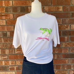 Vintage Florida Sea Turtle Sun Lover T-Shirt